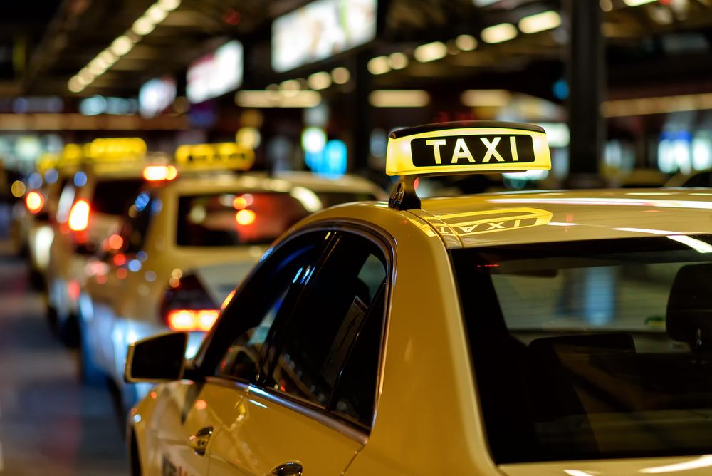 taxi pour se déplacer